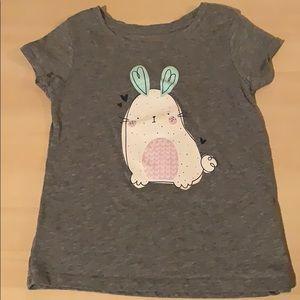 Cat & Jack bunny 🐰 shirt